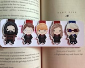 Wizard Mini Magnetic Bookmarks Set One