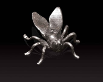 Sterling Silver Fly Ornament