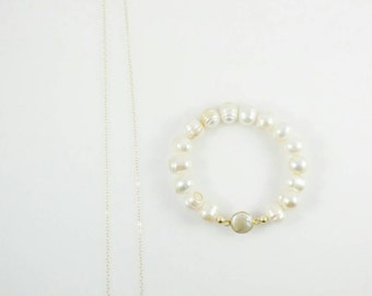 Freshwater Pearls Gold Filled Set