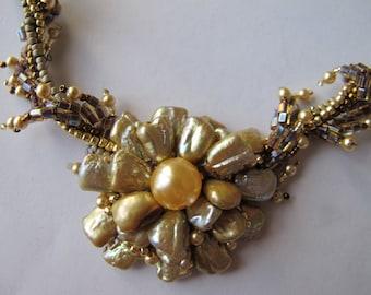 Golden Blossom Signature Necklace Set