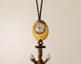The anchor and compass
