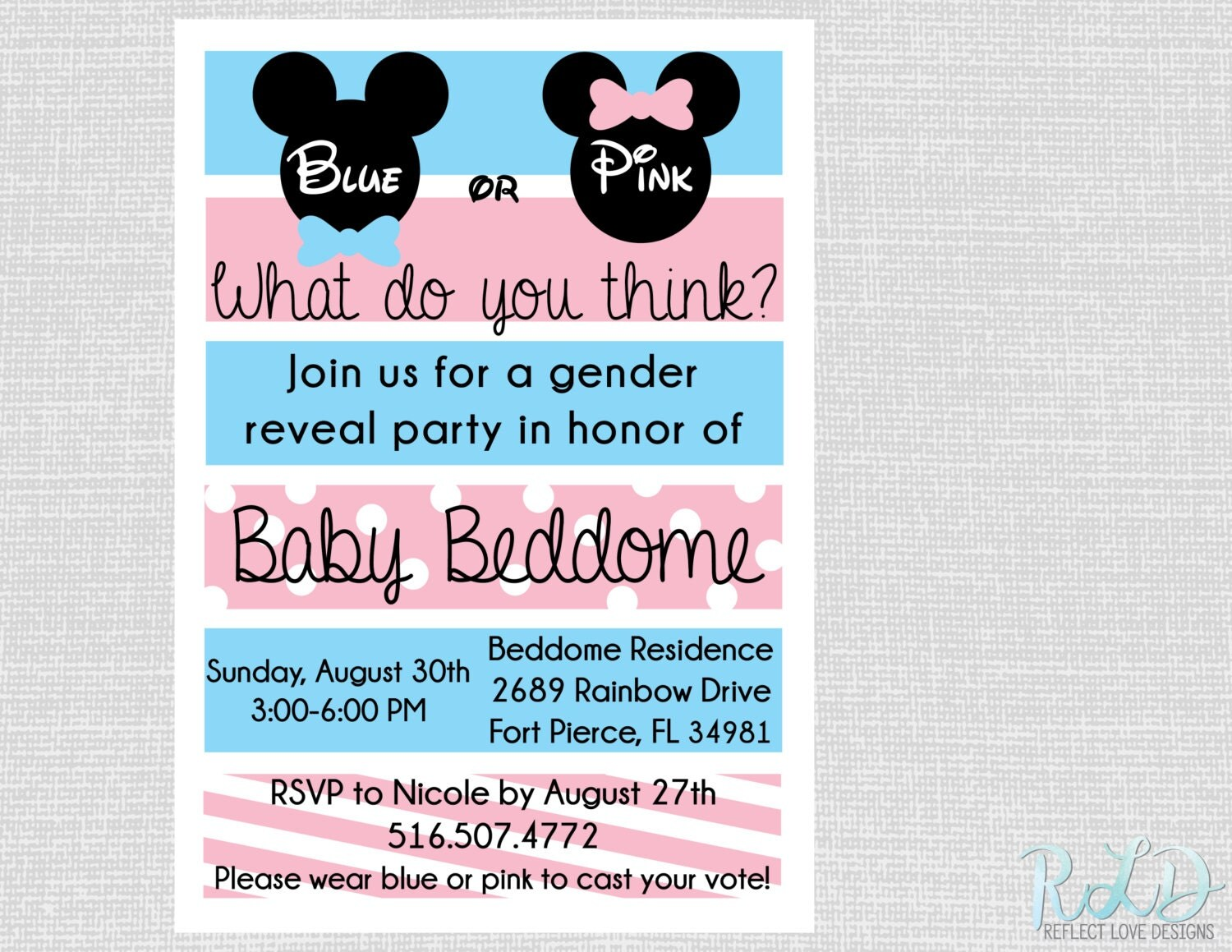 How To Create Minnie Mouse Invitations as good invitation design