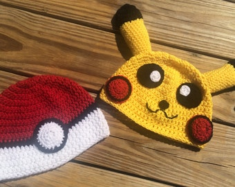 Pokémon: Poké Ball & Pikachu Inspired Beanies