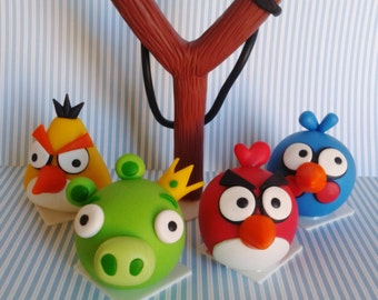 Angry Birds party ornament