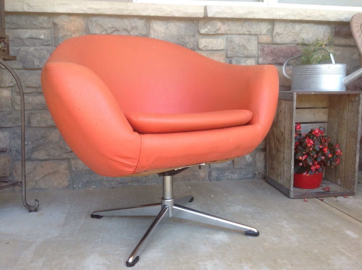 Modern Chair Retro Chair Mcm Mod Chair Pod Chair Accent