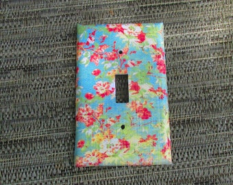 Vintage Flower Light Switch Cover