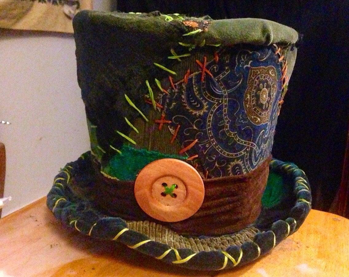 mad hatter hat burning man hat burning man accessories mad