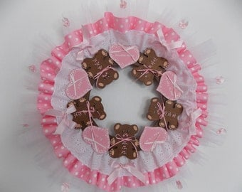 Personalized Baby Wreath
