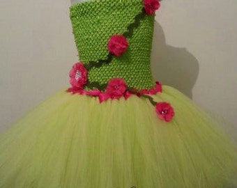 Tinker Bell inspired tutu dress 5-8years