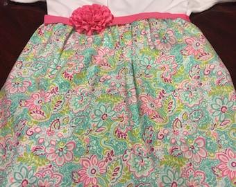 Flower onesie dress