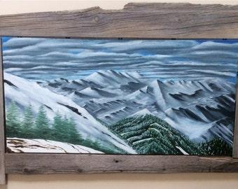 Barn Wood Mountains