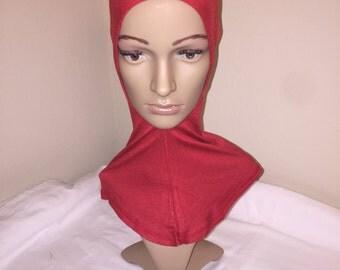 Red Ninja Bonnet Scarf