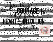 Samantha Font Inspirational Courage SVG STUDIO Ai EPS Scalable Vector Instant Commercial Use Cutting FIle Cricut Explore Silhouette Cameo