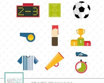 Soccer Gameclip art,Soccerclipart, vector  graphics,Sportsclipart, digital clip art, digital images