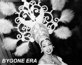 Josephine Baker Headdress Costume Hat Poster Art Photo Artwork 11x14 or 16x20