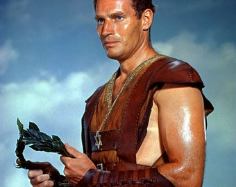 Charlton Heston Ben Hur Poster Art Photo Artwork 11x14  16x20 or 20x24
