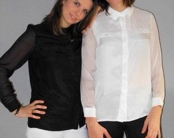 Model GRAZIELLA - shirt 100% silk