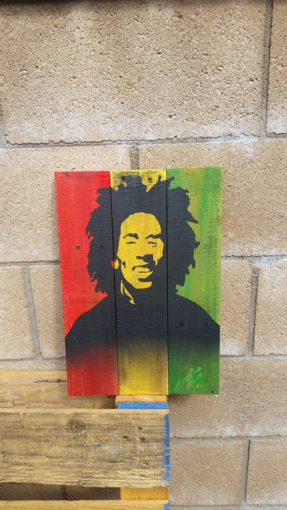 Https Www Etsy Com Listing 252161755 Wall Art Home Decor Bob Marley On