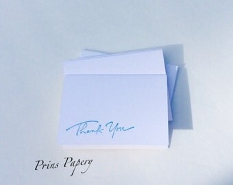 Thank You Mini Note Cards Set 10