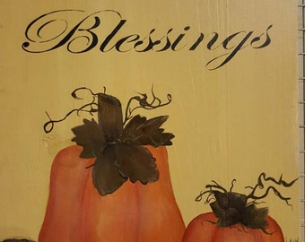Blessings Fall Decor Wall hanger