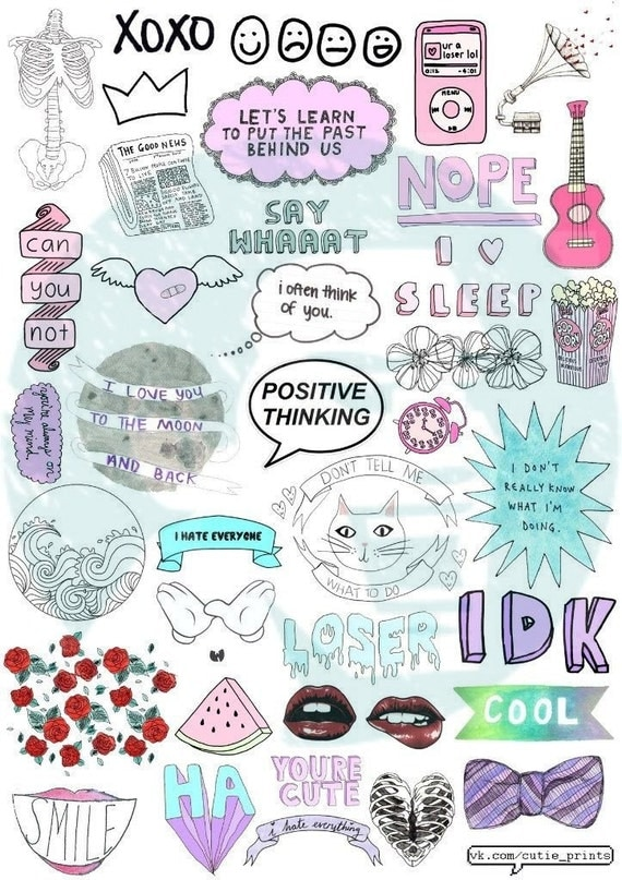 Tumblr wall decals