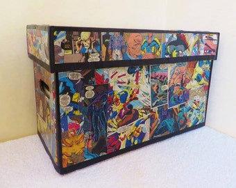 Custom Comic Book Storage Box