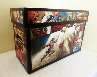 Custom Comic Book Storage Box