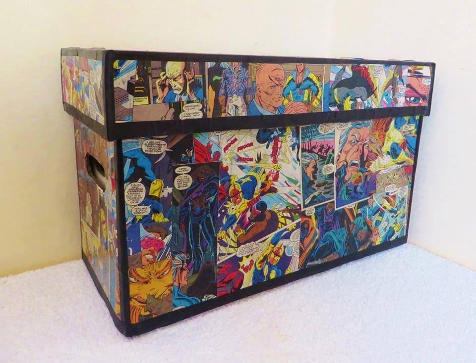 Custom Comic Book Storage Box By Knowheredesign On Etsy & Airtight Comic Book Storage - Listitdallas