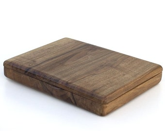 walnut wooden box