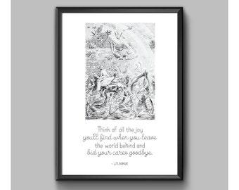 Digital Print - Peter Pan - Think Of The Joy
