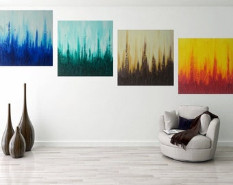 """structure painting """" rainbow """""""