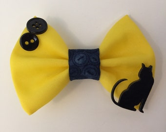 Coraline Inspired Hair Bow
