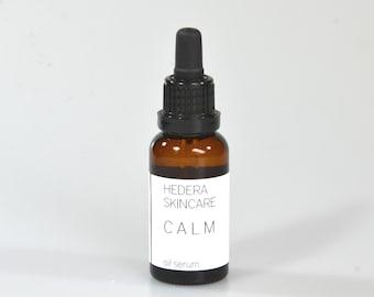 CALM oil serum for sensitive skin 30ml - vegan, organic, natural