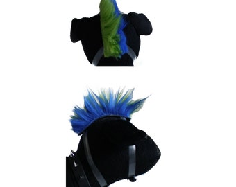 Dog Punk Wig-PAWnk Rock Star Mohawk