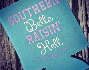Southern Belle Raisin' Hell Boutique Beverage Insulator
