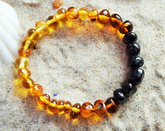 Amber bracelet, Baltic Amber, Amber bracelet for adults, Adult Baltic Amber Bracelet, High quality amber, Genuine Baltic Amber, Amber stone