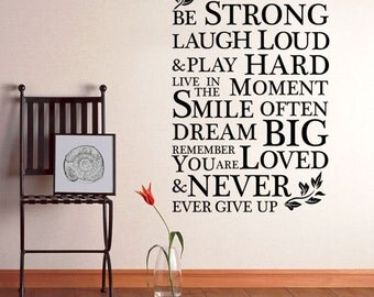 HAVE HOPE INSPIRATION Large Vinyl Art Wall Stickers- Quotes Mural-Decal Bedroom