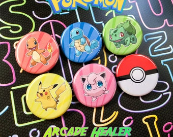 Pokemon Pinback Button Set!