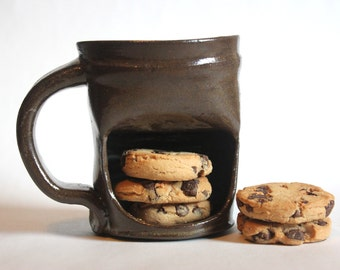 Cookie Mug, Cookie Mugs, Pottery Mug, Pottery Mugs, Coffee Mug, Coffee Mugs, Ceramic Mug, Ceramic Mugs, Handmade Mug, Handmade Mugs, Ceramic