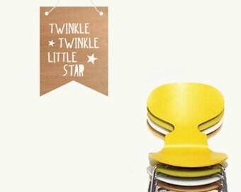 Kids Bamboo Buntings - Twinkle Twinkle Little Star