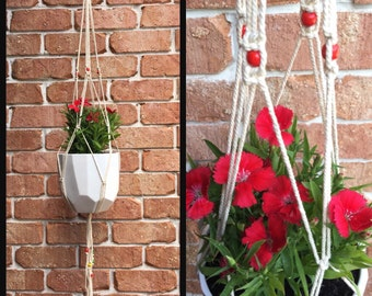 Retro style Macrame Hanger/Holder