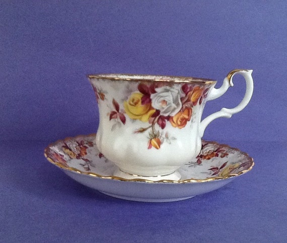 Royal Albert Lenora Bone China England Montrose Style Teacup