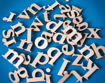 Alphabet letters magnet set wood, educational toy, teach kids phonics, lowercase letters, sounds, learning ABCs