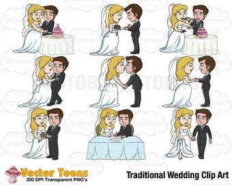 Traditional Wedding Clip Art