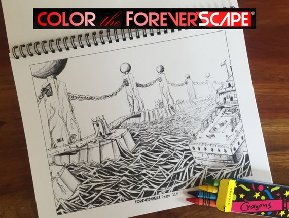Color The ForeverScape: 31 pages. Install ForeverScape App for Coupon Code
