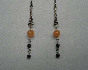 Halloween drop earrings