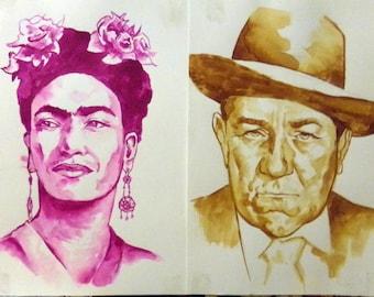 watercolor portraits - personalized portraits in watercolor