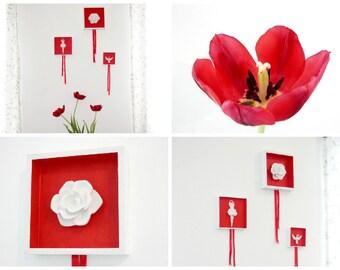 Set Of Wall Art Frames, Framed Decor, 3D Wall Art