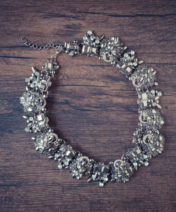 Luxe Noir Statement Necklace