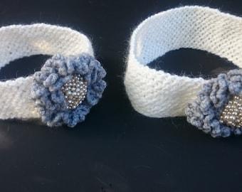 Mother and Daughter Crochet Headbands plus Present